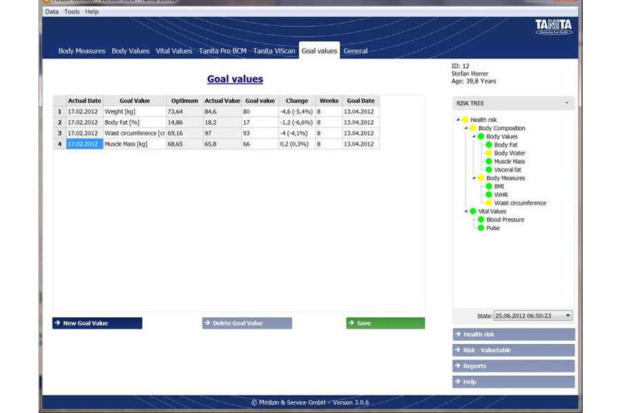 GMON Software for Tanita: description, price, specification